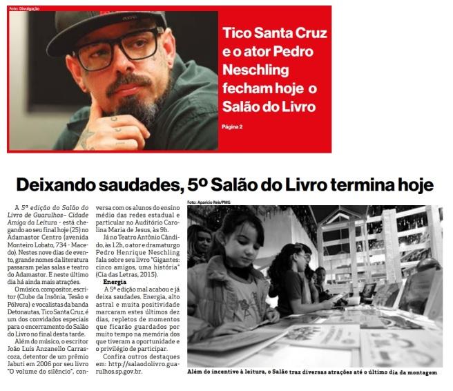 Prefeitura de Guarulhos 25-05-2016 Capa e Página 2