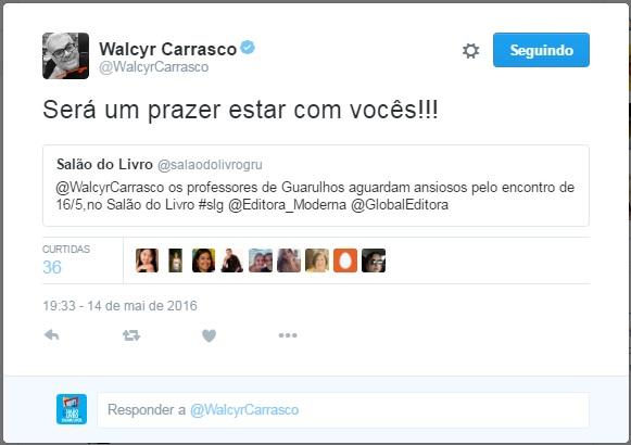 Twitter - Walcyr Carrasco 14-05-2016