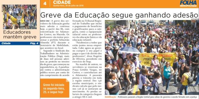 Folha Metropolitana 28-07-2016