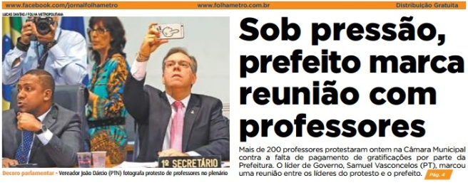 Folha Metropolitana 03-08-2016 Capa
