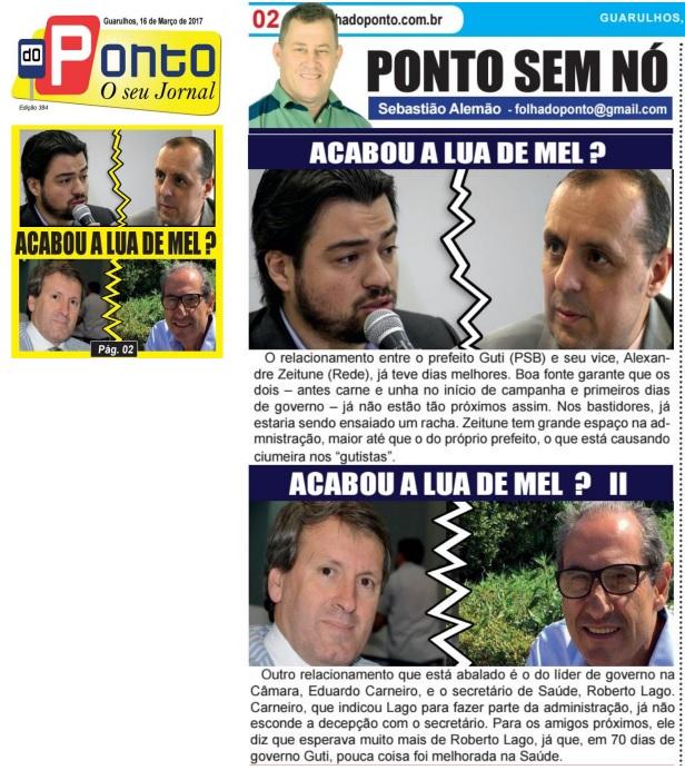 Folha do Ponto 16-3-2017 Capa e Página 2