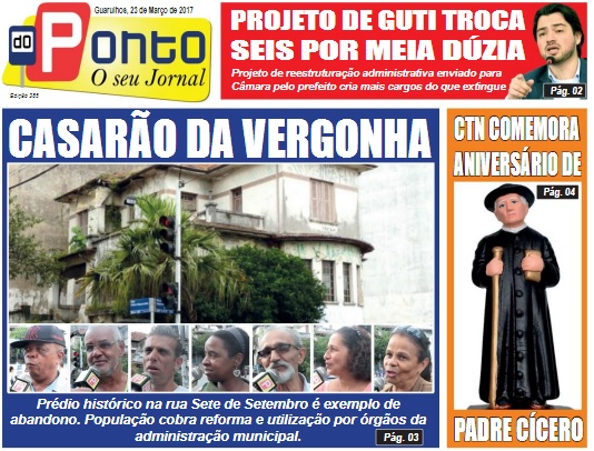Folha do Ponto 23-03-2017 Capa