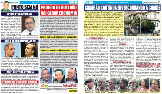 Folha do Ponto 23-03-2017 Página 2 e 3