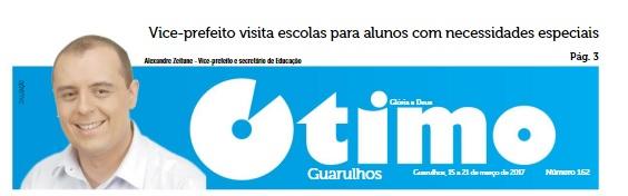 Jornal Ótimo 15-03-2017 Capa