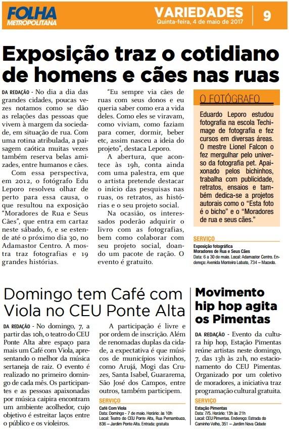Folha Metropolitana 04-05-21017 Página 9