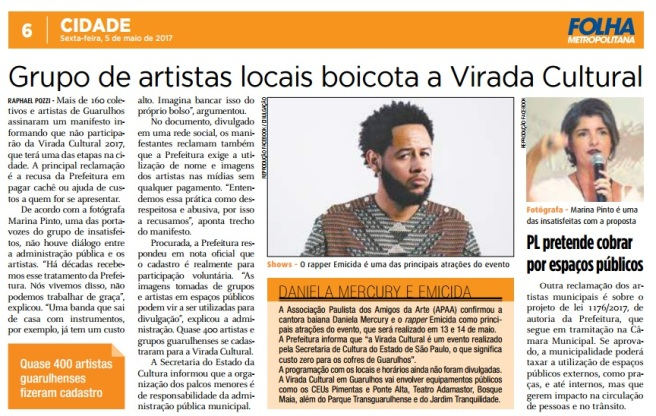 Folha Metropolitana 05-05-2017 Página 6