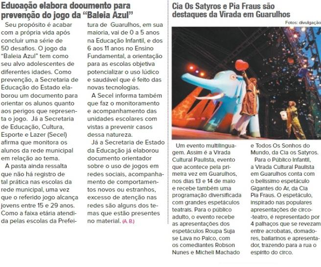Guarulhos Hoje 10-05-2017 - Página 2 e 6