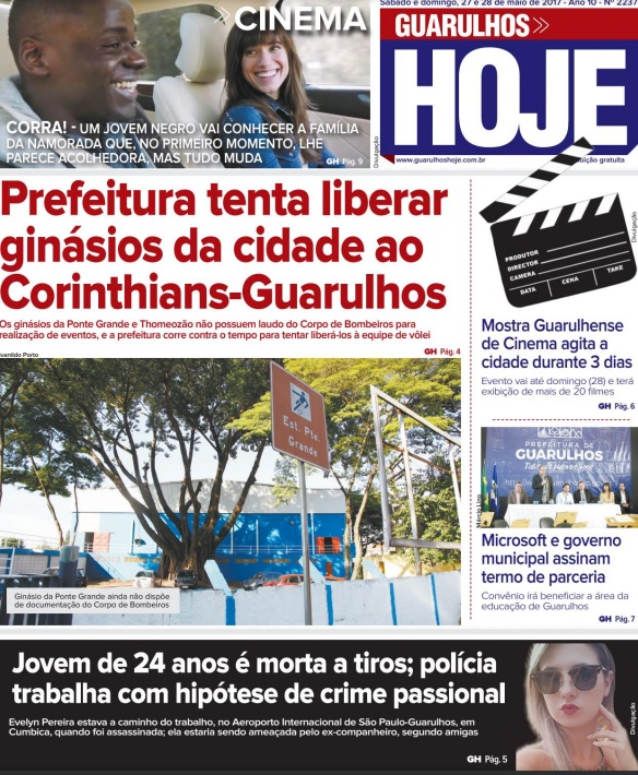 Guarulhos Hoje 27-05-2017 Capa