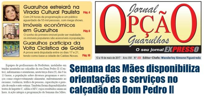 Jornal Opção 13-05-2017 Capa