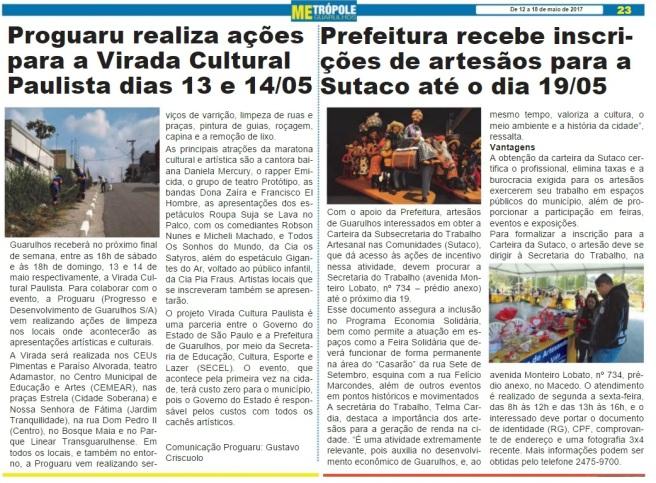 Metrópole Guarulhos 12-05-2017 Página 23