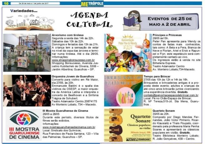 Metrópole Guarulhos 26-05-2017 Página 10
