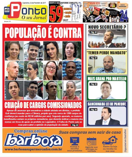 Folha do Ponto 02-02-2017 Capa