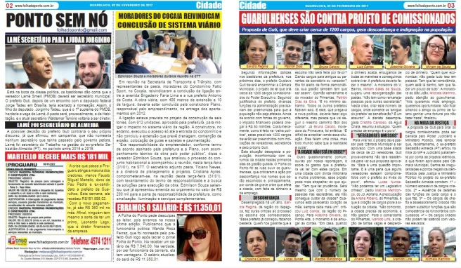Folha do Ponto 02-02-2017 Pa´gina 2 e 3