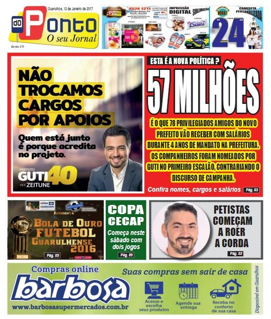 Folha do Ponto 12-01-2017 Capa