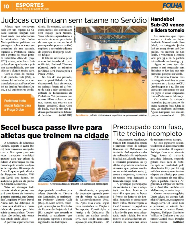 Folha Metropolitana 06-06-2017 Página 10