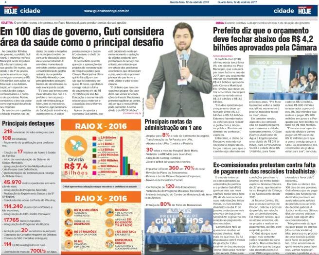 Guarulhos Hoje 12-04-2017 Página 4 e 5