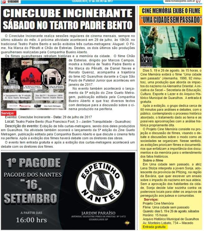 Folha do Ponto 27-07-2017