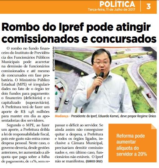 Folha Metropolitana 11-07-2017 Página 3