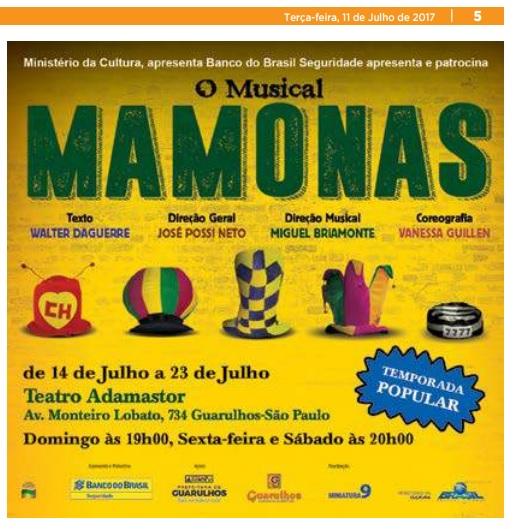 Folha Metropolitana 11-07-2017 Página 5.