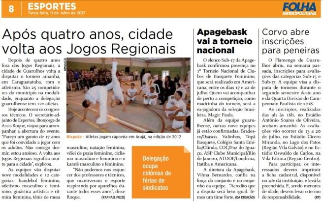 Folha Metropolitana 11-07-2017 Página 8