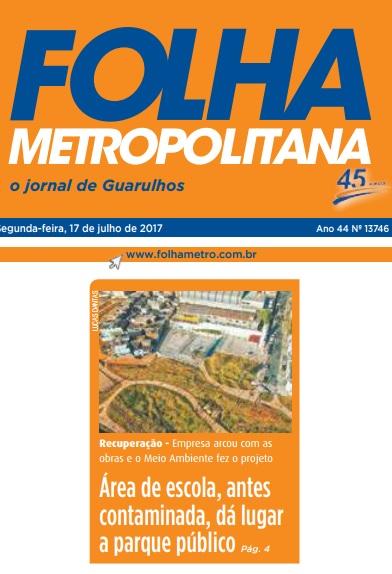 Folha Metropolitana 17-07-2017 Capa