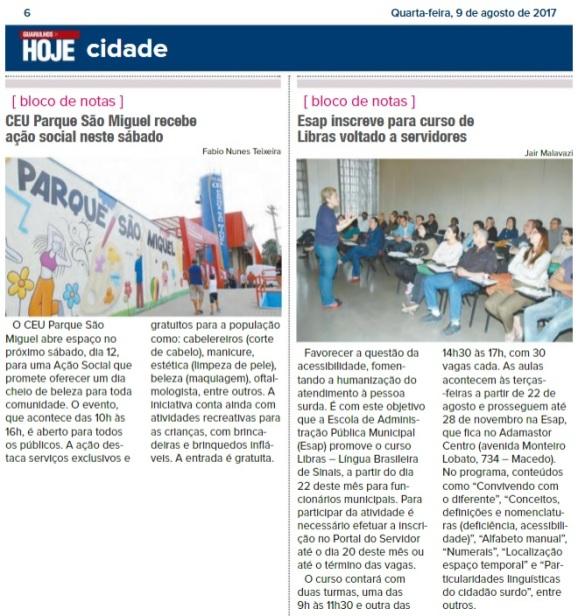 Guarulhos Hoje 09-08-2017 Página 6