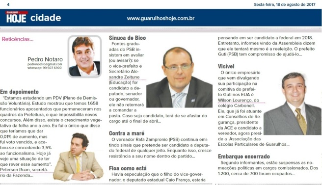 Guarulhos Hoje 18-08-2017 Página 4