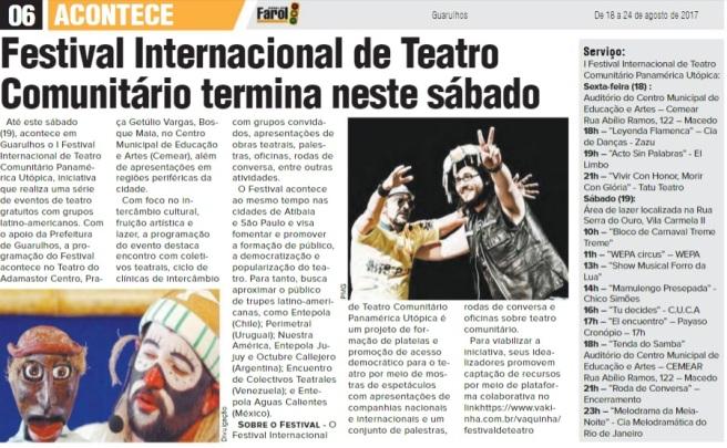 Jornal do Farol 18-08-2017 Página 6
