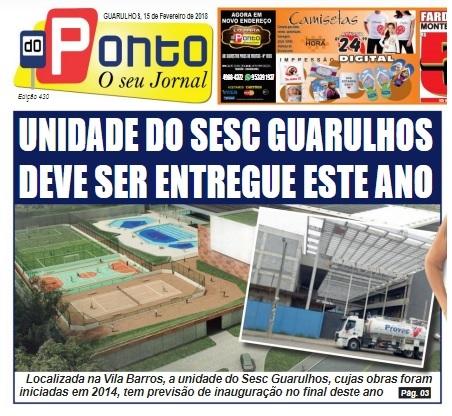 15-02-2018 Folha do Ponto - Capa